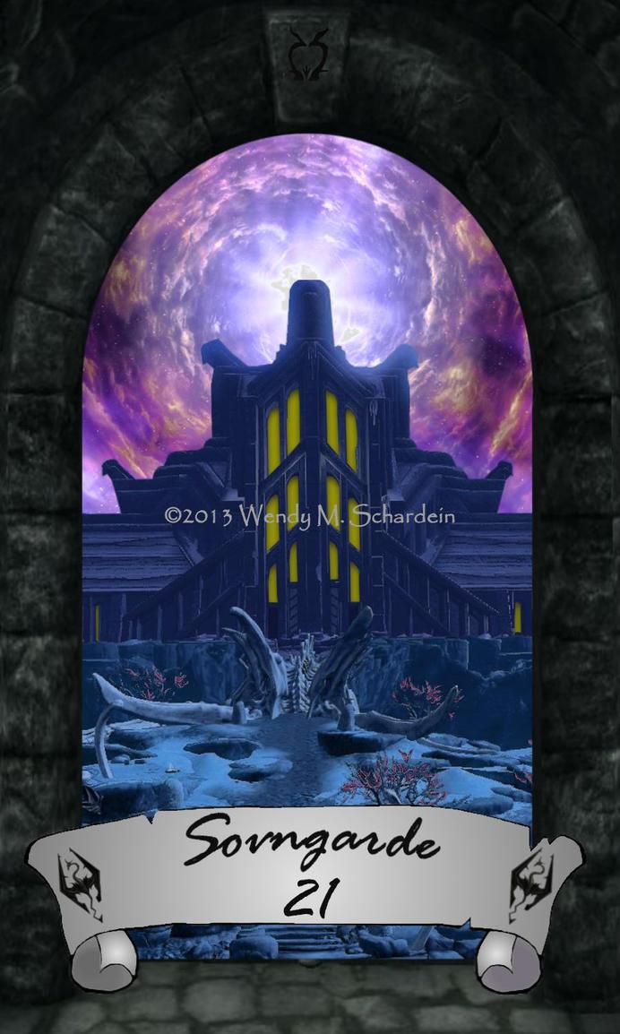 Skyrim Tarot 21 - Sovngarde by Whisper292