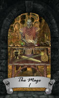 Skyrim Tarot 1 - The Mage