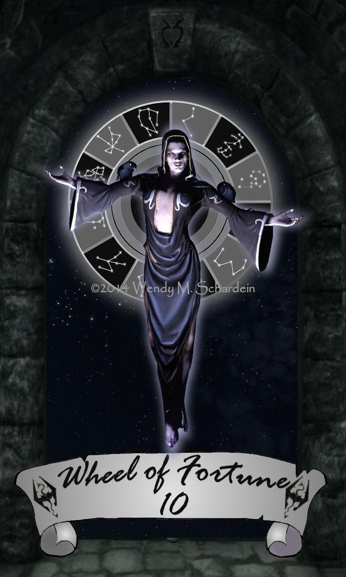 Skyrim Tarot 10 - Wheel of Fortune by Whisper292