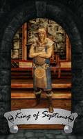 Skyrim Tarot - King of Septims