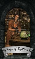 Skyrim Tarot - Page of Septims