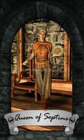 Skyrim Tarot - Queen of Septims
