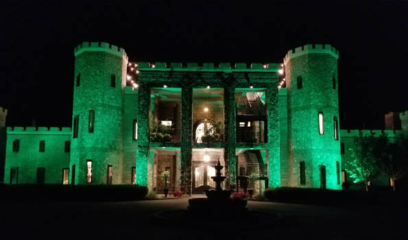Kentucky Castle at Night