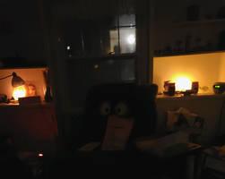 Creepy Living Room