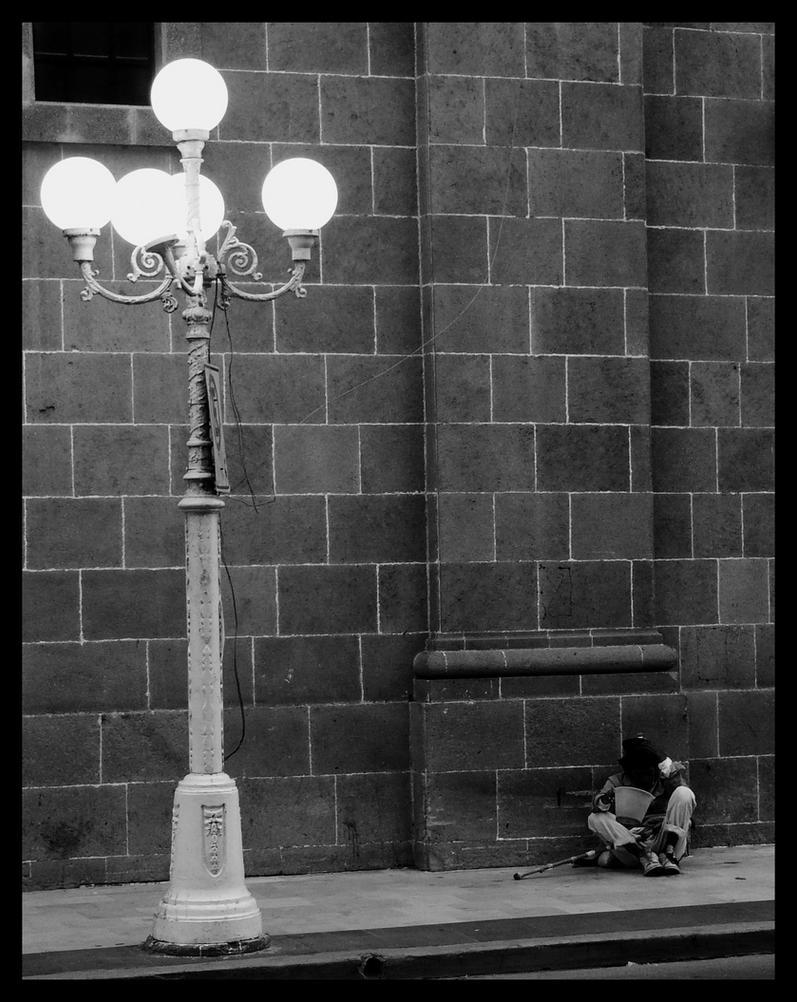 Luz para el pobre by Malacantoche