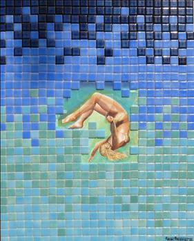 Self Portrait Under Water