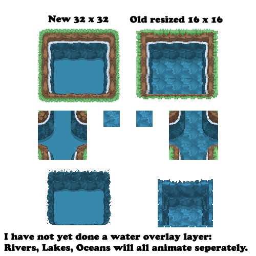 Water Tiles Hidef 32x32 By Of Nihility On Deviantart