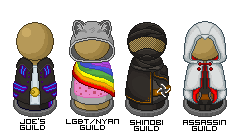 Nyan Cat Assassin's Creed Ninjas and an Anon by Of-Nihility