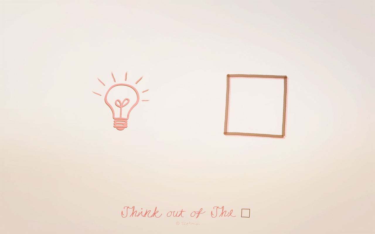 Think out of the Box by RMD-F