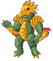 pokeFusion 3 Giganodon by TheOmNom