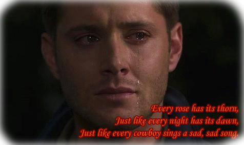 Dean Winchester - every rose has its thorn. by Borntobewyld