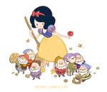 Adventure Time x Snow White