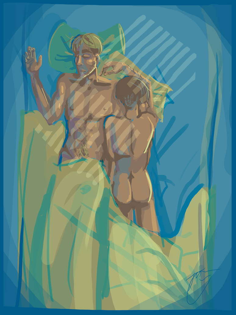 Morning Time - Eruri - Attack on Titan by froggyk