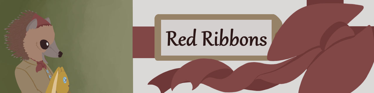 Red Ribbons Banner