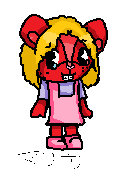 Marissa The Chipmunk by DrizzleTheBeach