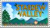 Stardew Valley - Stamp by Pikachumaster