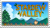 Stardew Valley - Stamp by Pikachumaster