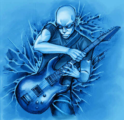 Joe Satriani A Preview Of ... The Extremist