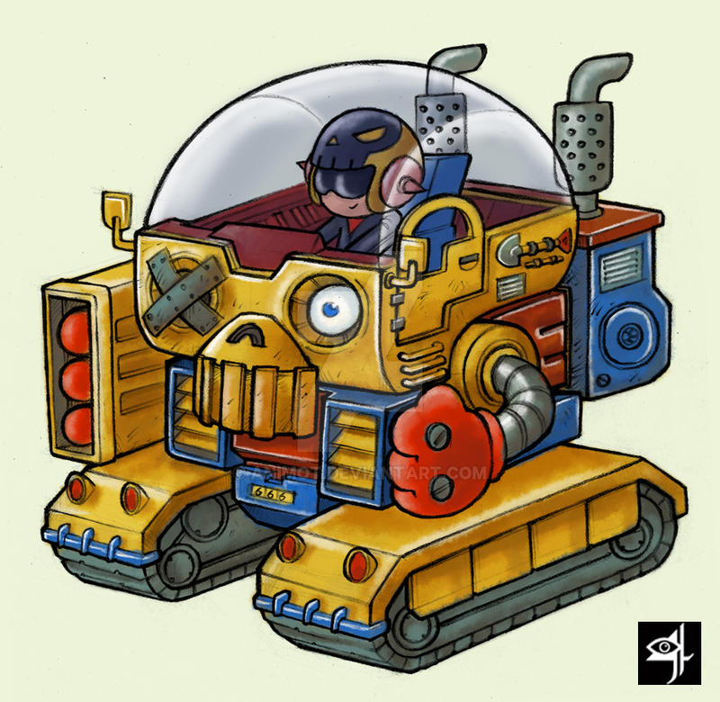 skullotank by animot
