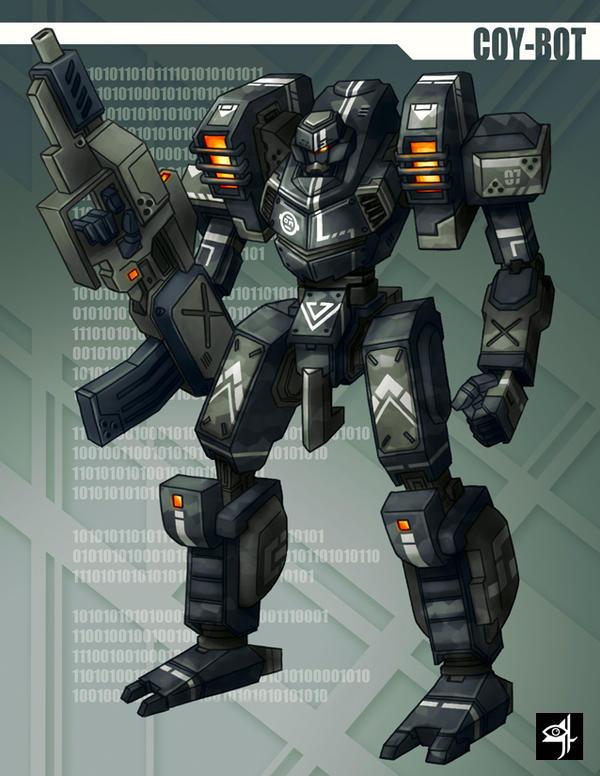 Coy-Bot by animot