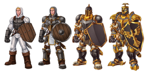 knight guard evolve