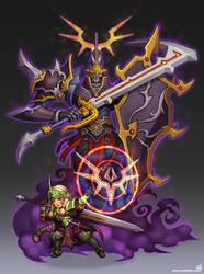 Conjurer Knight by animot