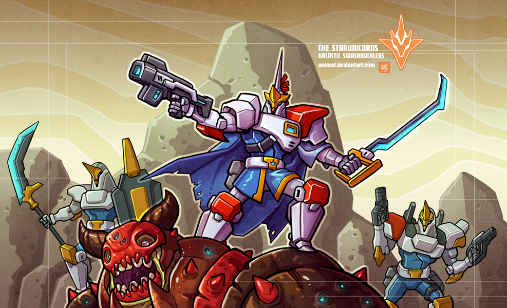 The Starunicorns by animot