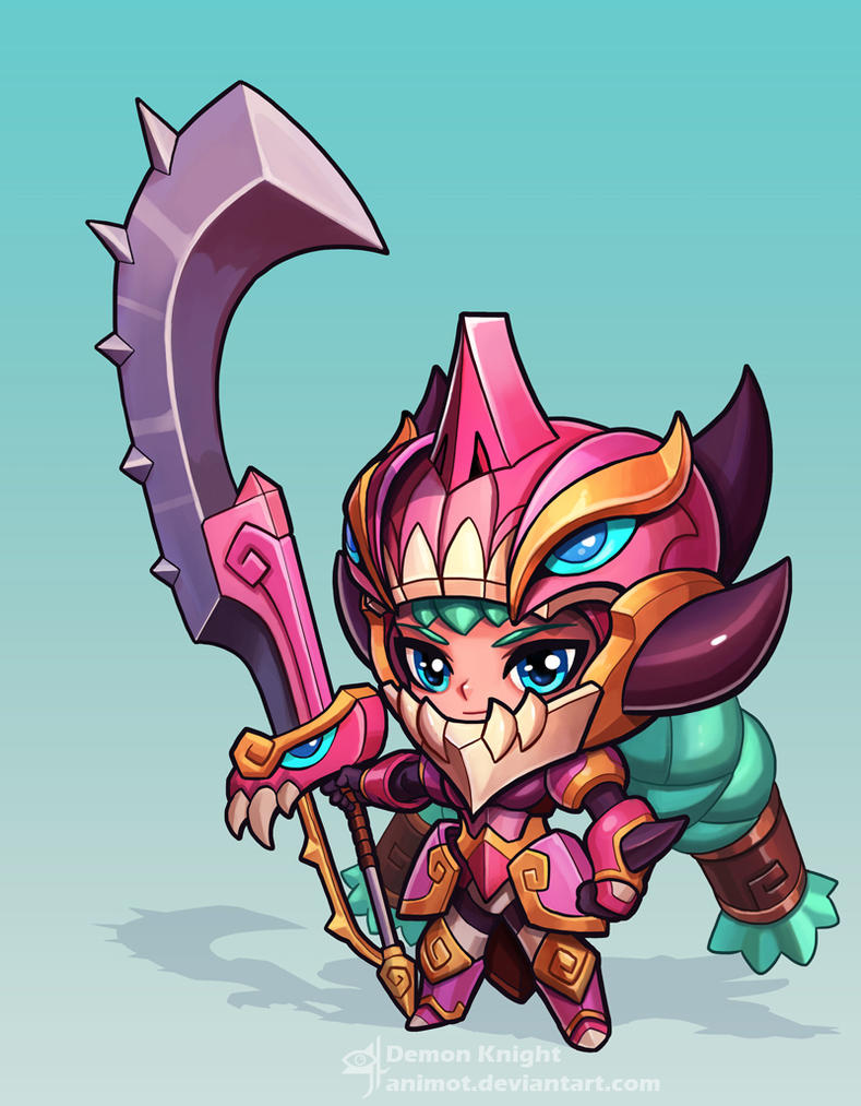 Demon Knight by animot