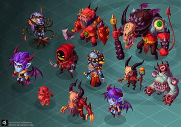 demonoid monsters