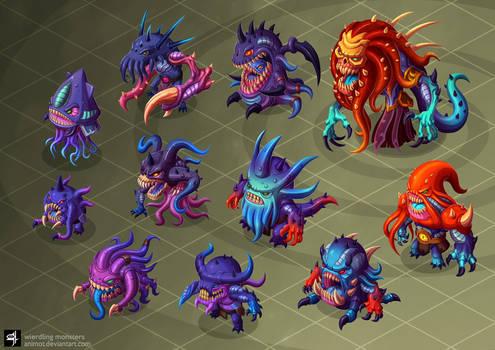 wierdling monsters