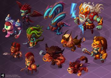 Olympus Monsters