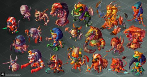 Sandcrawler Monsters