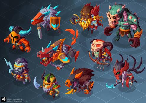 viking monsters