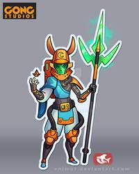 Moon Warriors Naginata