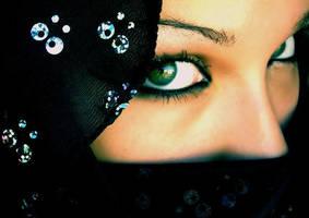 Green Eyes by Oskale