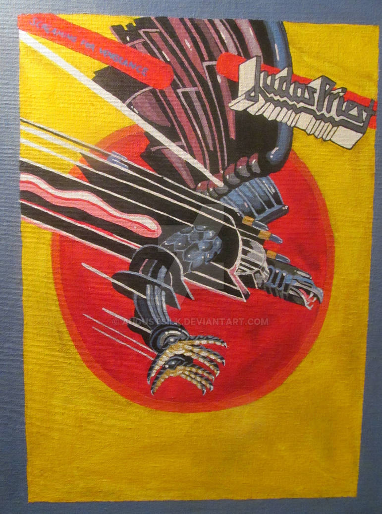 Screaming For Vengeance Judas Priest Cover By Augustsilk On