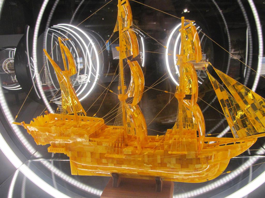 Golden Ship by AugustSilk