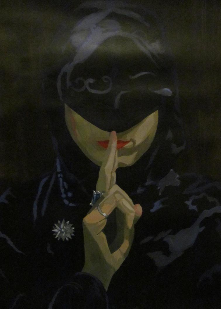 'Self Portrait: Silence' #1 by AugustSilk