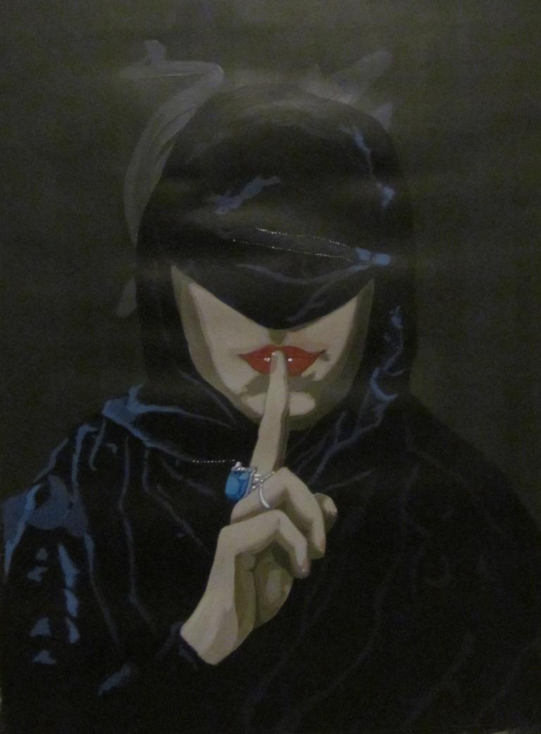 'Self Portrait: Silence' #2 by AugustSilk