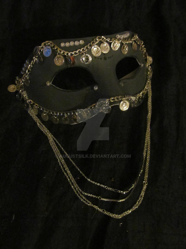 'Eastern Silver' mask by AugustSilk