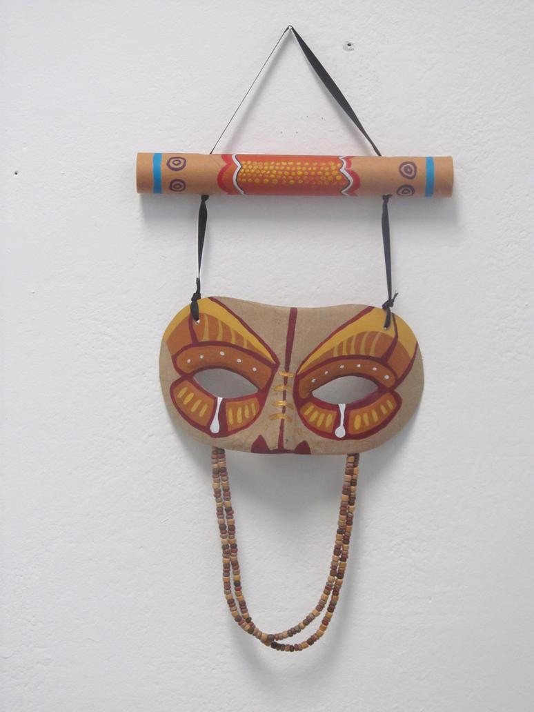 'AusMayan Mask' by AugustSilk