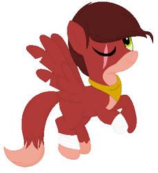 Foxy inspired pony by Tpaw34