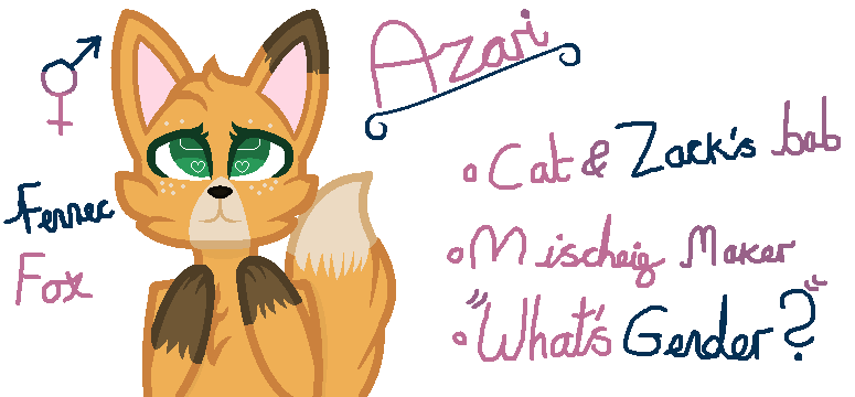 Azari!! (-new oc-) by Tpaw34