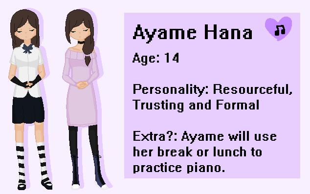 Ayame Hana (-New Rose-High oc-) by Tpaw34