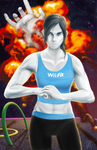 Wii Fit Trainer ain't havin that