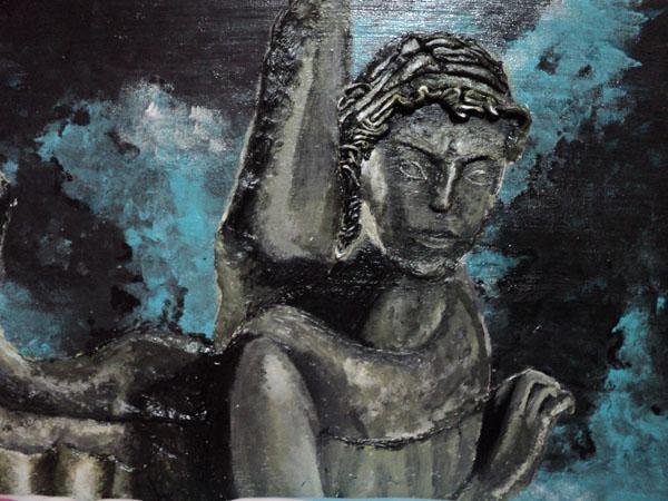Weeping Angel by Carlalikesart