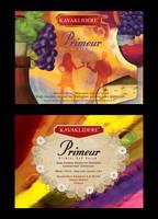 Primeur labels by adventtr