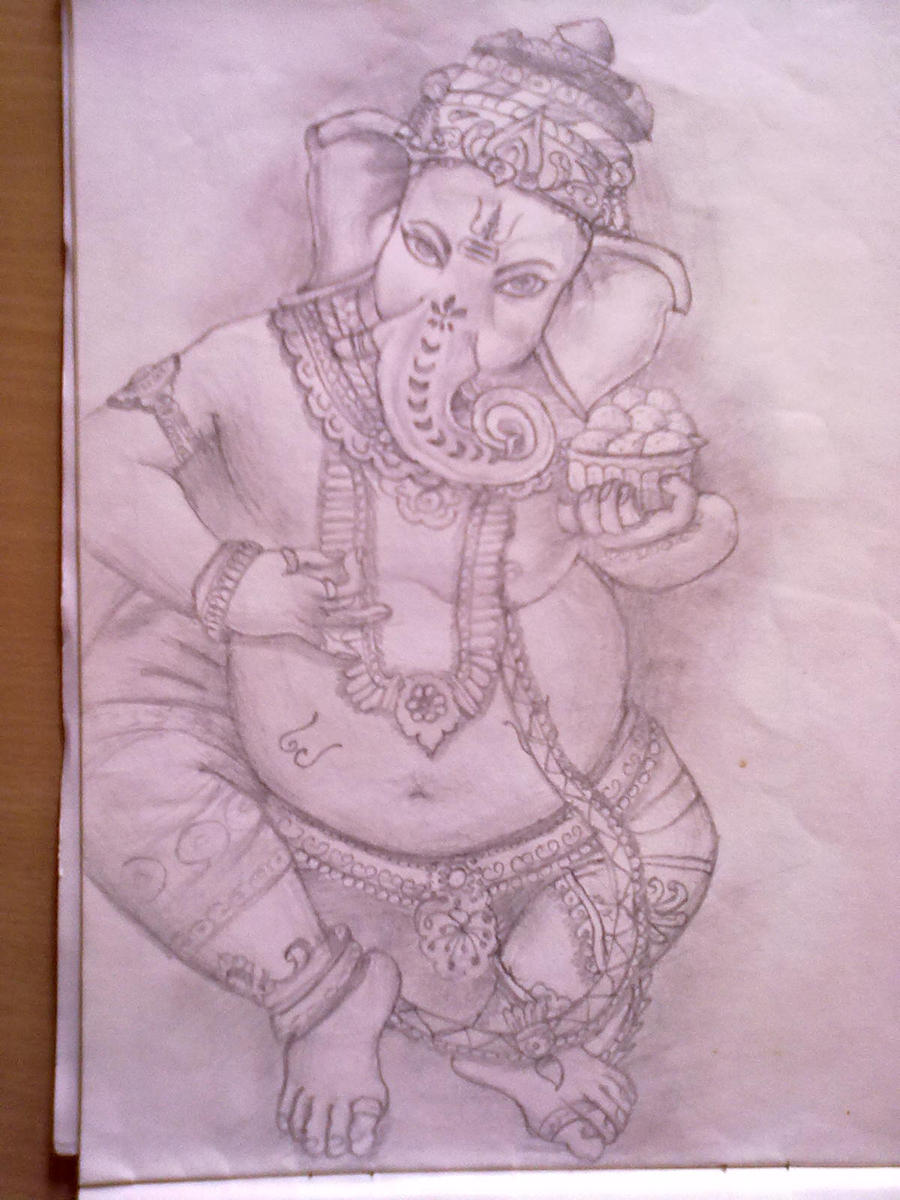 Lord Ganesh by ChiragtheOO7 on DeviantArt