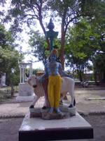 Krishna statue by ChiragtheOO7