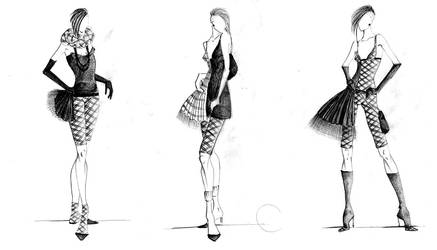 --haute couture scottish-- by AannNdddDI